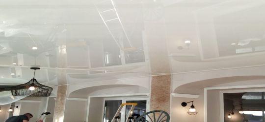 Waco Texas no crown molding DIY stretch ceiling canvas fabric membrane