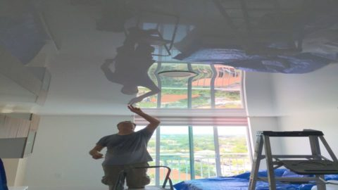 stretch ceiling how to make it