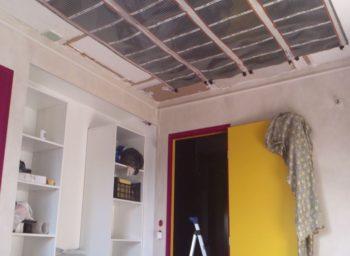 The stretch ceiling system Georgia