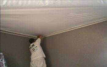 The stretch ceiling system Bradford county