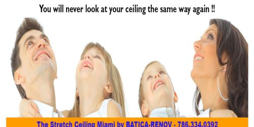 The stretch ceiling system State of